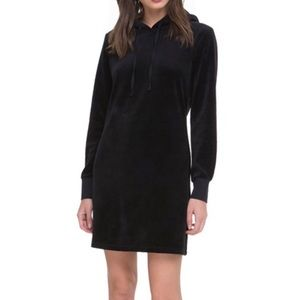 JUICY COUTURE  Hooded Velour Dress Sz S NWT